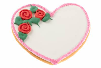 Select the Heart Sugar Cookie