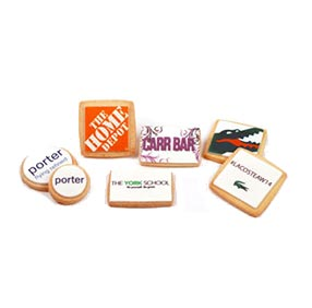 Quick Order Custom Corporate Logo Cookies