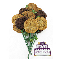 Happy Anniversary Long Stem Bouquet