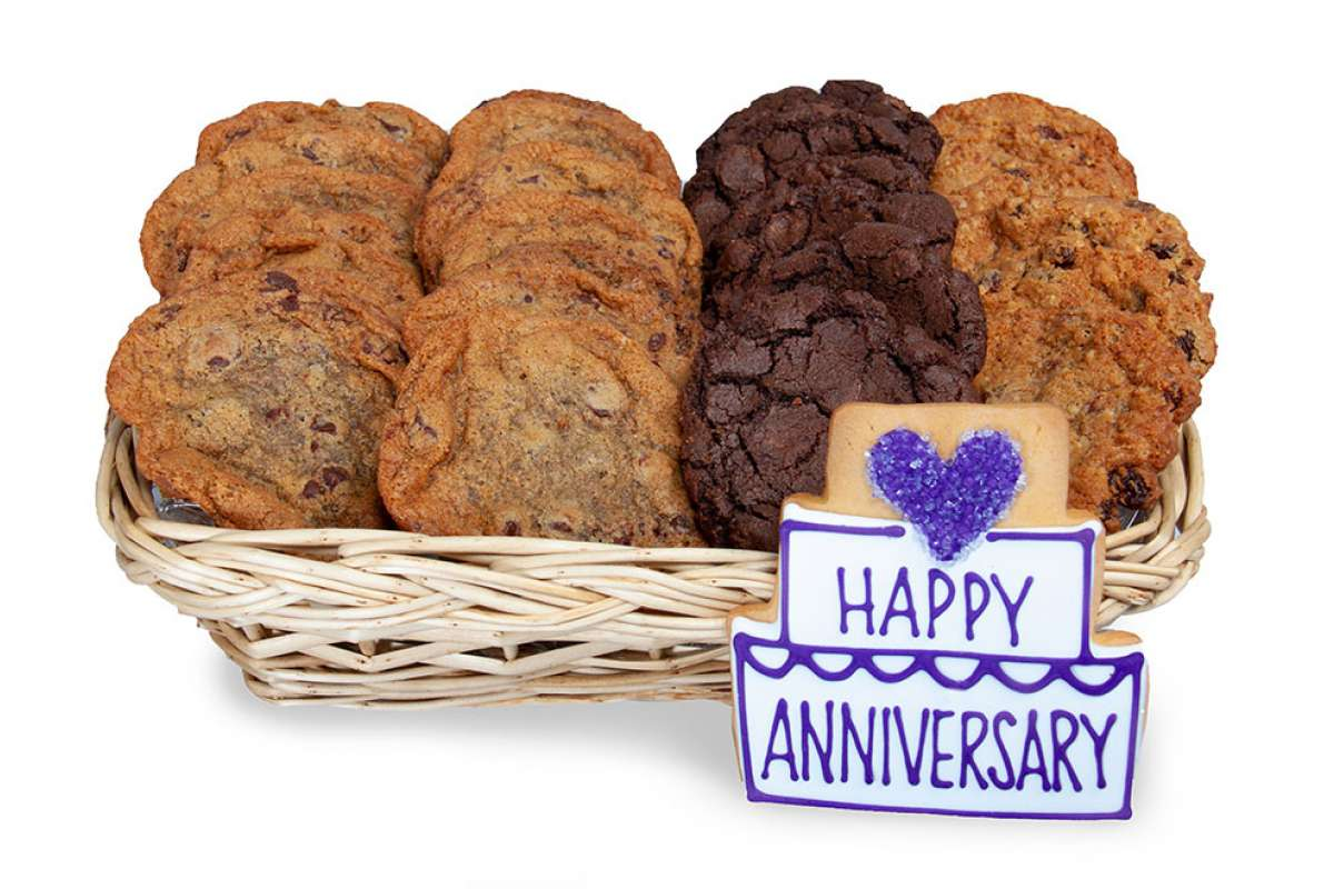 Anniversary gift basket gift baskets cookie delivery oakville enlarge anniversary gift basket negle Choice Image