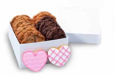 Double Heart Gift Box