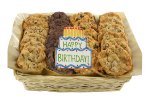 Enlarge photo of Happy Birthday Gift Basket