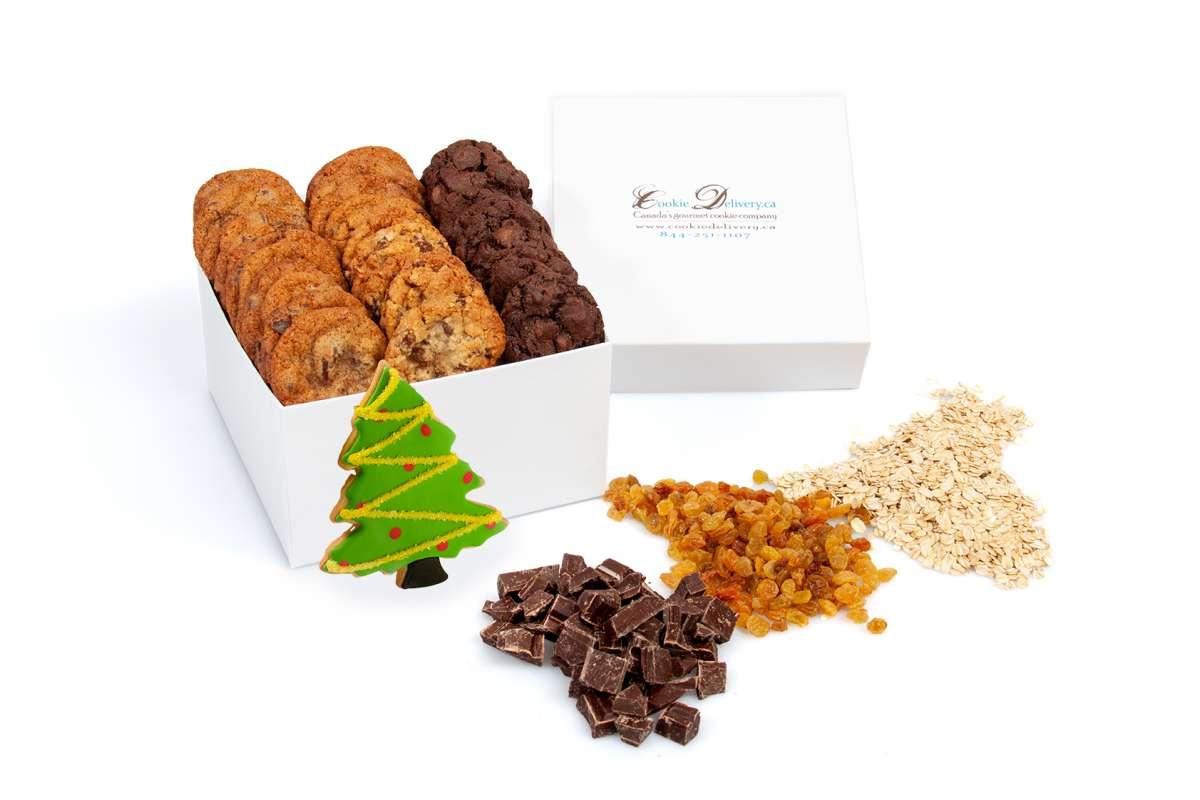Mini Christmas Tree Gift Box Christmas Mini Boxes Cookie Delivery Ca Oakville