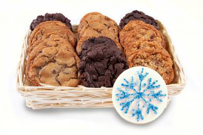Cookies for Santa Christmas Gift Basket