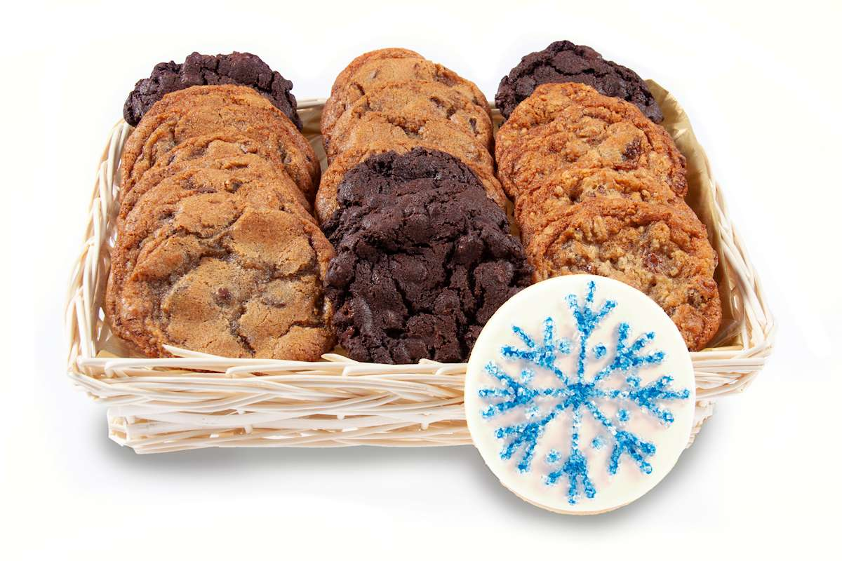 Cookies for santa christmas gift basket holiday