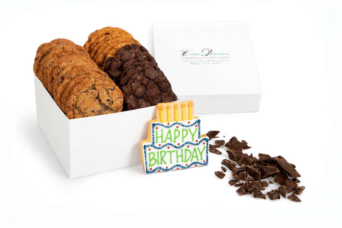 Send A Happy Birthday Gift To Someone Special In Oakville With This Basket