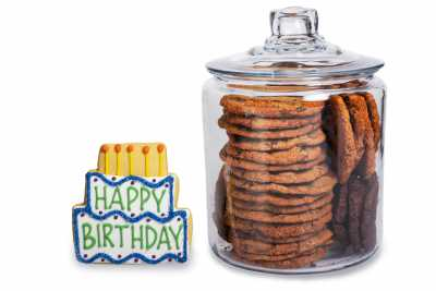 Happy Birthday Cookie Jar