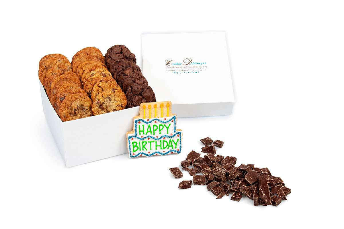 Happy Birthday Mini Box Gift Boxes Mini Cookie Deliveryca
