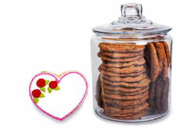 Heart Cookie Jar