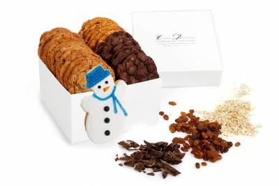 Let it Snow Holiday Gift Box
