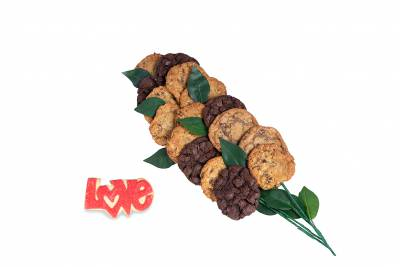 Long Stem Love Cookie Bouquet