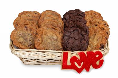 Love Cookie Gift Basket
