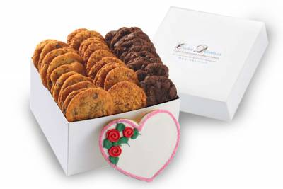 Mini Cookie Heart Box