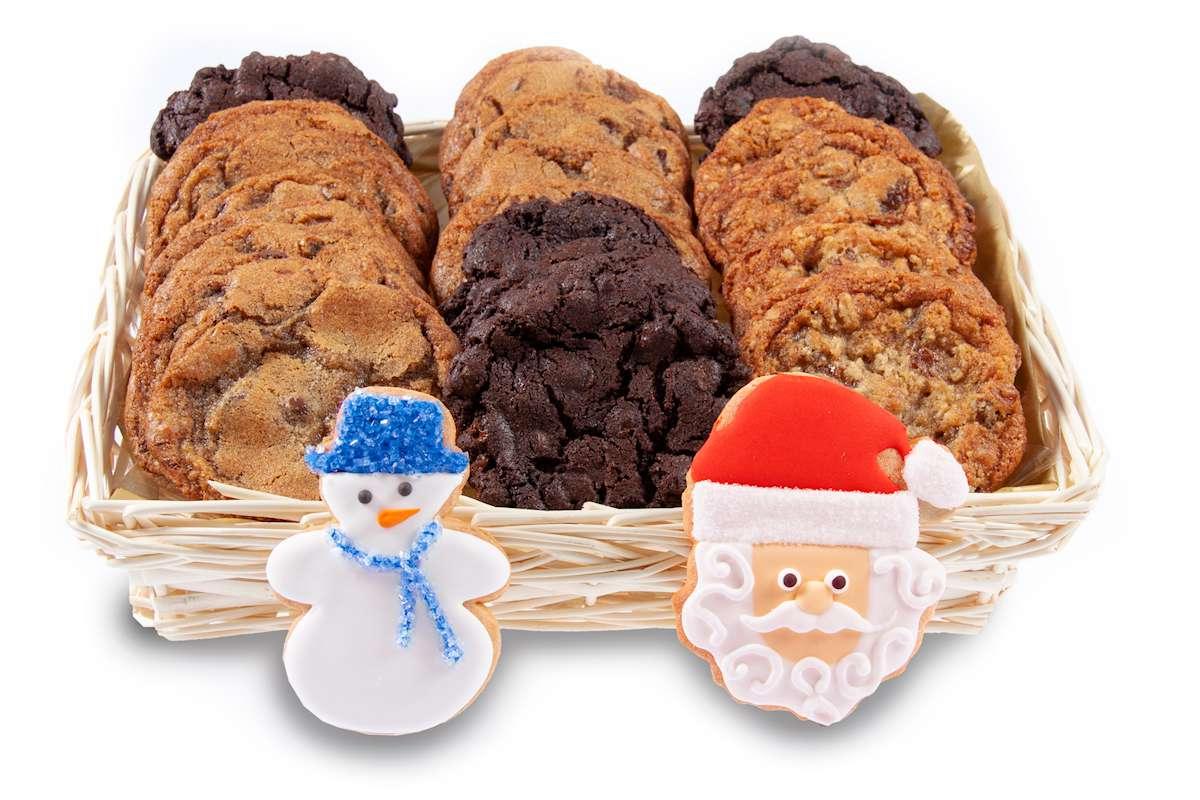 Christmas gourmet gift baskets free shipping